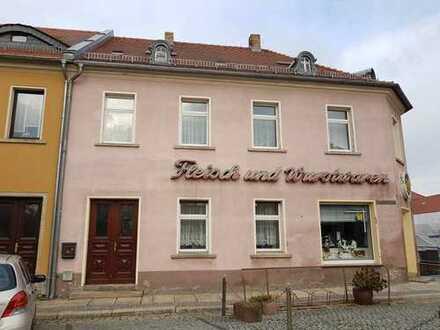 kleines Wohn- und Geschäftshaus in Weißenberg zwischen Bautzen und Görlitz unweit der A4