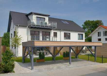 luxuriöse 175 qm Wohnung mit 3 Balkonen, exklusiven Bädern und Sauna in ruhiger Lage