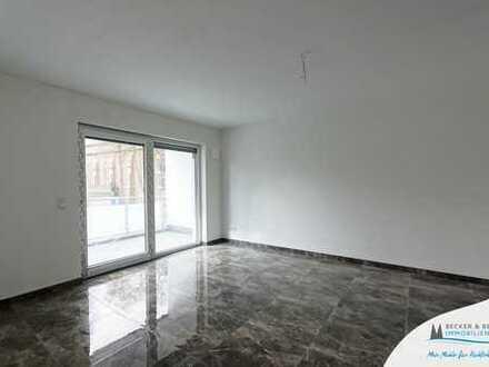 Neubautraum in Höhenhaus: Moderne 2-Zimmer Erdgeschoss-Wohnung mit Terrasse und Gartenanteil!
