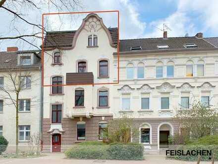 Großzügige Maisonettewohnung in Jugendstil-Altbau