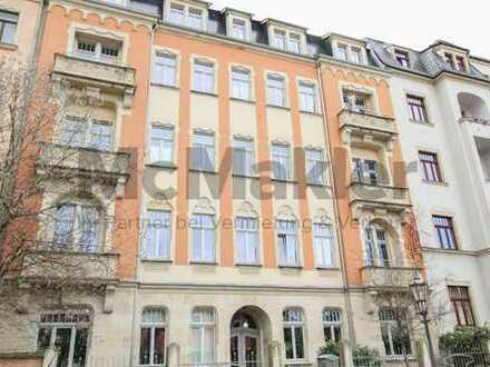 Sicher vermietet +++ Hochwertig sanierte 4-Zi.-Whg. mit Garten und Terrasse in der Dresdner Neustadt