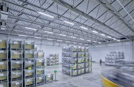 """""""BAUMÜLLER & CO."""" - Nähe A5: 10.000 m² Logistik-NEUBAU"""