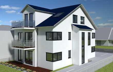 Neubau einer großzügigen Maisonettewohnung mit Gartenanteil