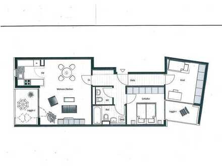*gepflegt, bezugsfrei und zentral*: 3-Zimmer-Wohnung in der Werinherstraße 97