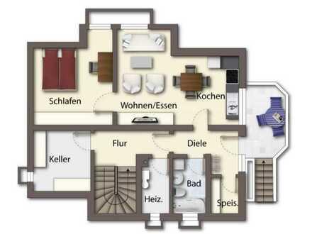 Gemütliche 2-Zimmer-Einliegerwohnung mit EBK in Riedlingen