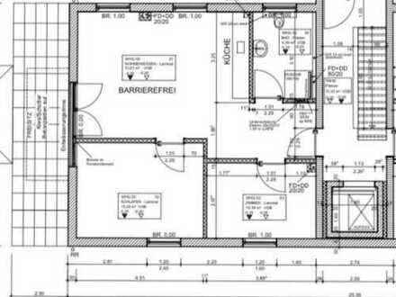 Barrierefreie 3-Zimmer Erdgeschoss-Wohnung