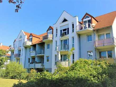 Vermietete 1-Raum-Wohnung mit Terrasse, EBK und TG-Stellplatz
