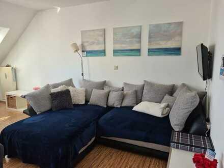 Kuschelnest unterm Dach in Schwabach - gepflegte 3-Zi-Wohnung mit Loggia, Gäste-WC und Tageslichtbad