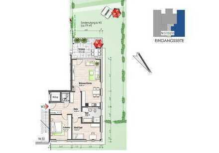 Erdgeschosswohnung mit Terrasse (Nr. 3)