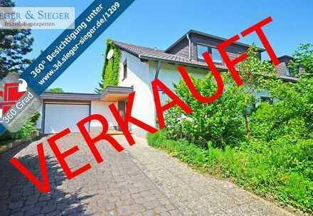 Provisionsfrei: Einfamilienhaus mit großem Grundstück am Naturschutzgebiet Siegauen