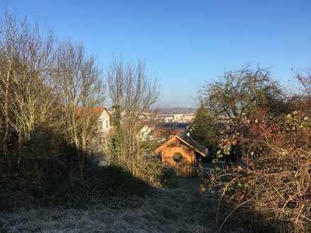 Schöner Bauplatz in ruhiger Wohnlage mit herrlicher Aussicht über Rottenburg