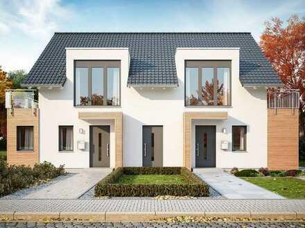 Gemeinsam planen-gemeinsam bauen-gemeinsam genießen. Doppelhaus in Meissen.