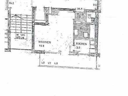Exklusive 1-Zimmer-Wohnung mit Balkon und Einbauküche in Schwabing-West, München