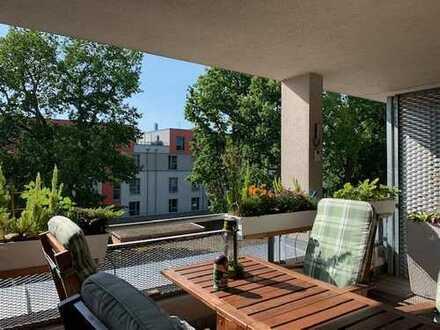 Solide Kapitalanlage ... Vermietete 2 Zimmer Wohnung mit großer SW- Terrasse