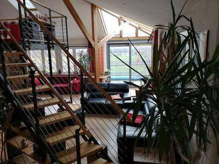 Besondere 5/6-Zimmer-Wohnung mit toller Aussicht
