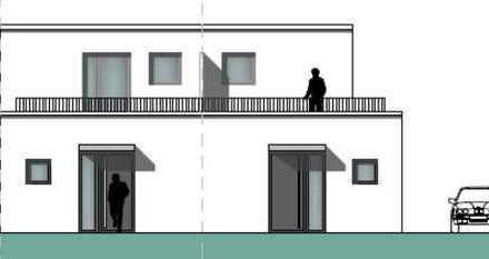 Wohn(t)räume im Zentrum von Pulheim! Neubau-Doppelhaushälfte + voll unterkellert + Garten