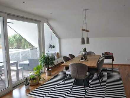 A...aachtung: exklusive Wohnung in bester Lage v. Bad Schönborn-Mi. (zw. KA u. HD)