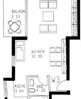 Großzügiges 1-Zimmer Appartment