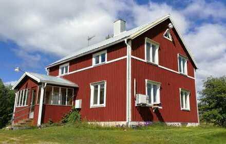gutes Haus an einem schönen Ort in Västerbotten