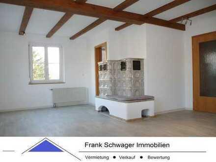 Haus im Haus: 6 Zi.-Maisonettewohnung mit moderner Einbauküche, 2 Bäder, Dachterrasse + Doppelgarage