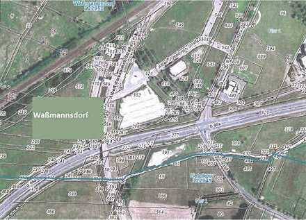 Landwirtschaftssflächen an der B 96a in Schönefeld