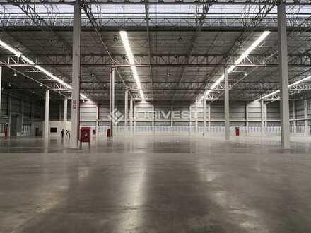 Lager- und Produktionshallen mit Büro