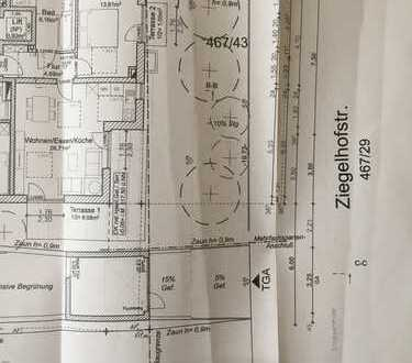 1.200 €, 62 m², 2 Zimmer