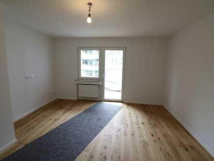 Modernisierte und schön aufgeteilte 3-Zimmer Wohnung mit großem Balkon