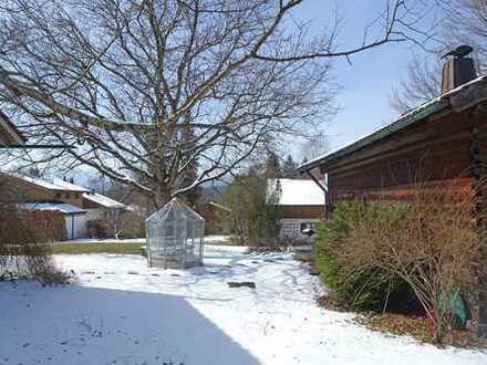 Grundstück für ein Einfamilienhaus mit Bergblick in Bad Tölz