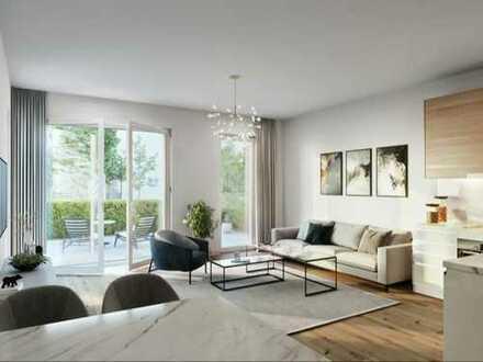 Für Familien das Größte: 4-Zimmer-Wohnung mit ca. 60 m² Garten - nahe Innenstadt und Zoo