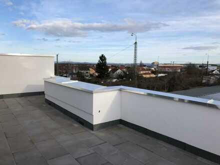 Neubau: Penthouse mit großer Dachterrasse