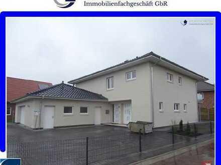 neuwertige, geräumige 4 Zimmer-Erdgeschosswohnung mit Garagenstellplatz in Westerstede!