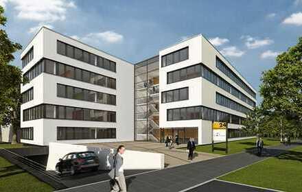 Modernes Neubau-Bürogebäude in der Weststadt