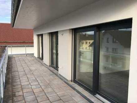 NEUBAU-Erstbezug Penthouse-Wohnung mit Dachterrasse in Waldperlach