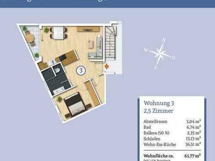 Wieso noch Miete bezahlen - Gemütliche 2,5-Zi.-Obergeschosswohnung mit Balkon