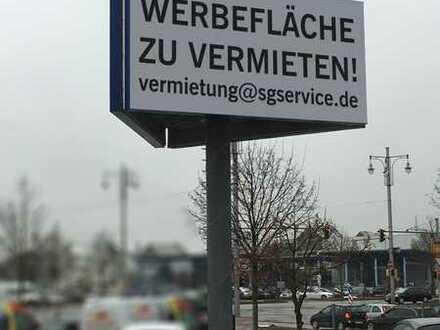 Werbepylon in Augsburg zu vermieten