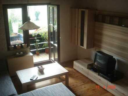 Möblierte 2-Zimmer-Maisonette-Wohnung mit Balkon in Wilhelmsfeld