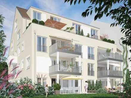 NEUBAU!-Traumhafte Dachterrassen-Maisonette mit Fernblick und Einbauküche!