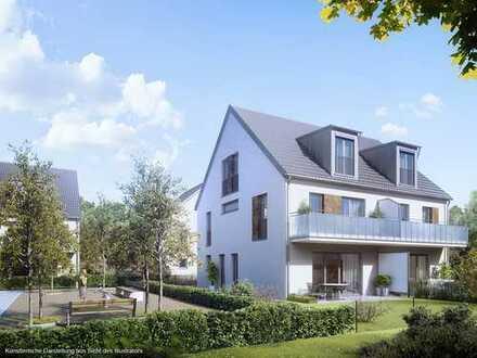 Großzügige Doppelhaushälfte mit drei Schlafzimmern und ca. 37 m² großem Wohn-Studio im DG