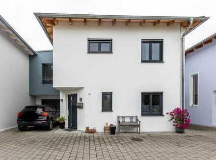 Modernes Einfamilienhaus in Reihenbauweise