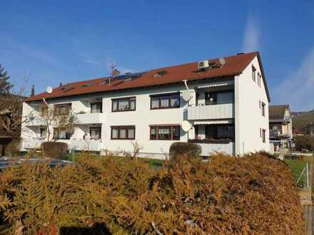 Modernisierte 2-Raum-Wohnung mit Einbauküche in Sachsenheim-Hohenhasslach