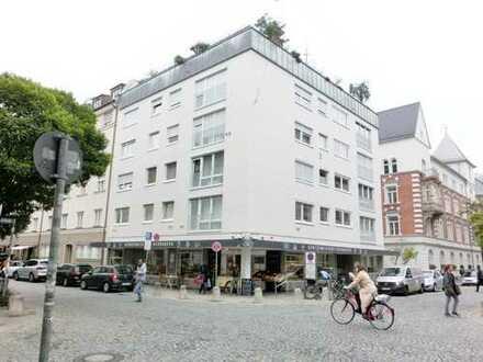 Elegantes Eckladenlokal , 186 qm , in TOP-Lage von München-Neuhausen für Büro oder Praxis