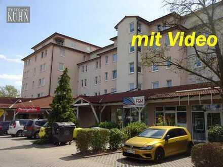 schöne Singlewohnung Werdau Friesen, 1,5 Zimmer, Balkon, Fahrstuhl, Tiefgarage