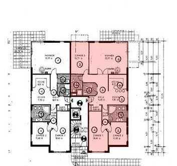 Erdgeschoss-Wohnung mit eigenem Garten