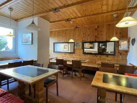 Restaurant mit Terrasse – voll eingerichtet – sofort startklar – frei