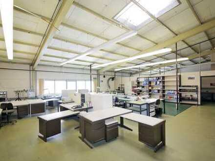 Produktion, Lager, Büro - 770 m² Nutzfläche im Obergeschoss einer Gewerbehalle
