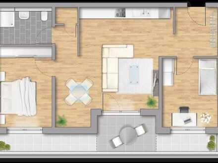 3 (H1) Zimmerwohnung mit 76,07 m², Beratungstermine am Sonntag ab 10 Uhr möglich