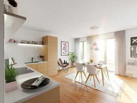 Großzügig und modern gestaltet - 4 Zimmer-Dachgeschoss-Wohnung mit großer Terrasse!