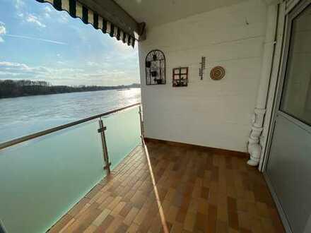 Einfamilienreihenmittelhaus 3 Zimmer Maisonette mit separatem Eingang direkt am Rhein