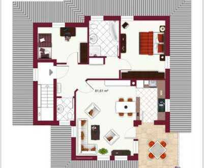 Neuwertige 3-Zimmer-DG-Wohnung mit Balkon und EBK in Olpe